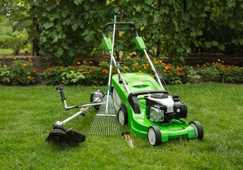Equipment Used for Lawn Mowing Services in East Peoria IL